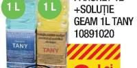 Detergent parchet 1L + solutie geam 1L Tany