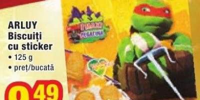 Biscuiti cu sticker Arluy