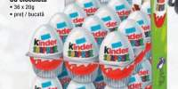 Ou ciocolata Kinder Surprise