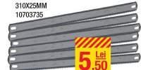 Set 6 panze ferastrau 310 x 25 milimetri