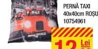 Perna taxi 40x40 centimetri rosu