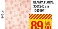 Perdea voal Blanca Floral 300x245 centimetri