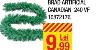 Ghirlanda brad artificial canadian 240 VF