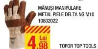 Manusi manipulare metal piele Delta NG M10