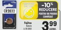Baterie Li CR 2032 Fujitsu