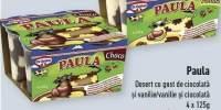 Paula desert cu gust de ciocolata sau ciocolata