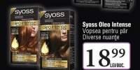 Vopsea pentru par Syoss Oleo Intense