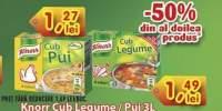 Knorr cub legume/ pui