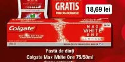 Pasta de dinti Colgate Max White One  + Apa de gura Max White One