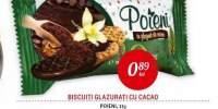 Biscuiti glazurati cu cacao Poieni