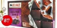 Ciocolata neagra cu umplutura de mousse Delhaize