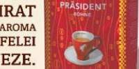 Cafea boabe Prasident