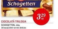 Ciocolata Trilogia Schogetten