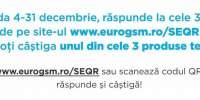 Promotie EuroGsm: 3 intrebari ti-am pregatit, 3 premii avem de oferit!