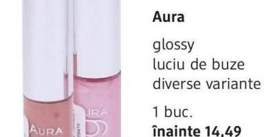 Luciu de buze Glossy Aura