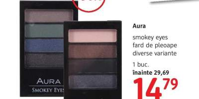 Fard de pleoape smokey eyes aura