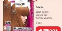 Vopsea de par Palette Salon Colors