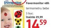 Fevermonitor 48 ore termometru bebe
