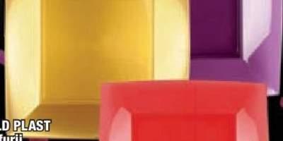 Farfurii Gold Plast