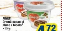 Crema cacao si alune/ bicolor Fineti 200 grame