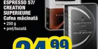 Cafea macinata Davidoff Rich Aroma/ Espresso 57/ Creation Superieure