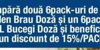 15% reducere la pachetul Golden Brau + Bucegi!