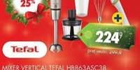 Mixer vertical Tefal + cutit ceramic Zen HB863ASC38