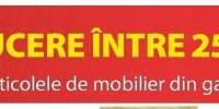 Reducere intre  25-50% la toate articolele de mobilier din gama Malt!