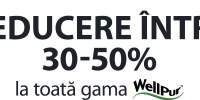 Reducere intre 30-50% la toata gama WellPur