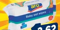 Servetele umede pentru copii Aro