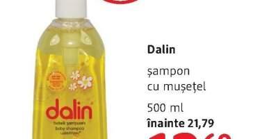 Sampon cu musetel Dalin