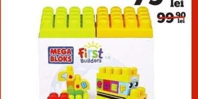 Autobuzul Alfabet Junior Constructii Mega Bloks