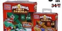 Figurine cu vehicule Power Rangers Mega Bloks