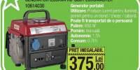 Generator 0.65KVA RD-GG01 Euromaster