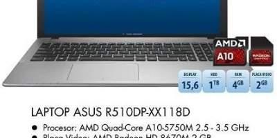 Laptop ASUS R510DP-XX1 18 D