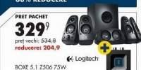 Boxe 5.1 Z506 75 W + adaptor wireless Logitech