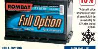 Full Option acumulator auto 12 V