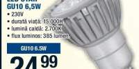 Bec reflector LED Star GU10 6,5 W