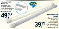 Tub fluorescent LED T8