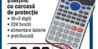 Calculator stiintific cu carcasa de protectie