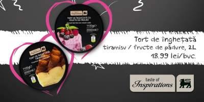 Tort de inghetata tiramisu/fructe de padure!