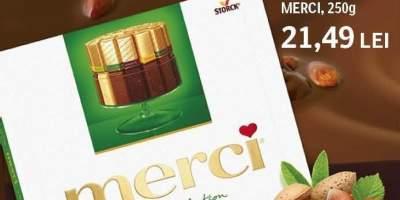 Specialitati de ciocolata praline Merci