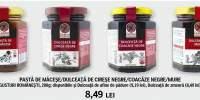 Paste de macese/ dulceata de cirese/ coacaze negre/ mure Gusturi Romanesti