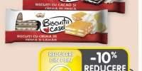 Biscuitii Casei cu crema de ciocolata/ cacao& frisca/ lamaie& frisca Alka