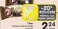 Croissant cu crema de ciocolata 7 Days