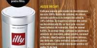 Cafea decofeinizata Illy