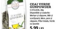 Ceai verde Gunpowder