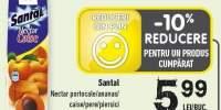 Nectar portocale/ ananas/ caise/ pere/ piersici Santal