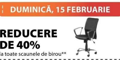 Reducere de 40% la toate scaunele de birou