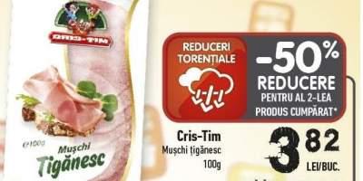 Muschi tiganesc Cris-Tim